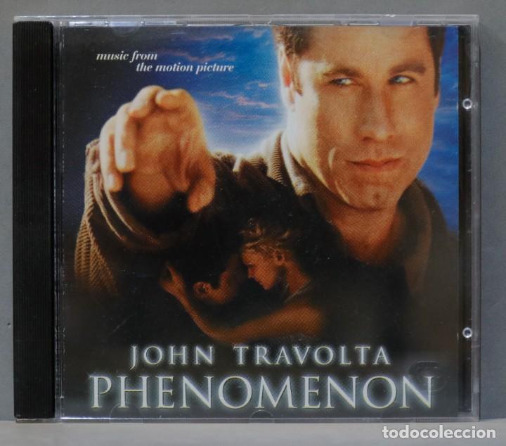 CD. JOHN TRAVOLTA. PHENOMENON (Música - CD's Bandas Sonoras)
