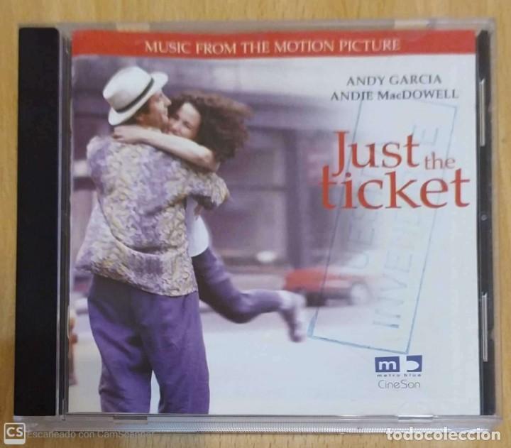 B.S.O. JUST THE TICKET - CD 1999 - STEVIE WONDER, ANDY GARCIA (Música - CD's Bandas Sonoras)