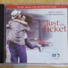 CDs de Música: B.S.O. JUST THE TICKET - CD 1999 - STEVIE WONDER, ANDY GARCIA. Lote 288170073