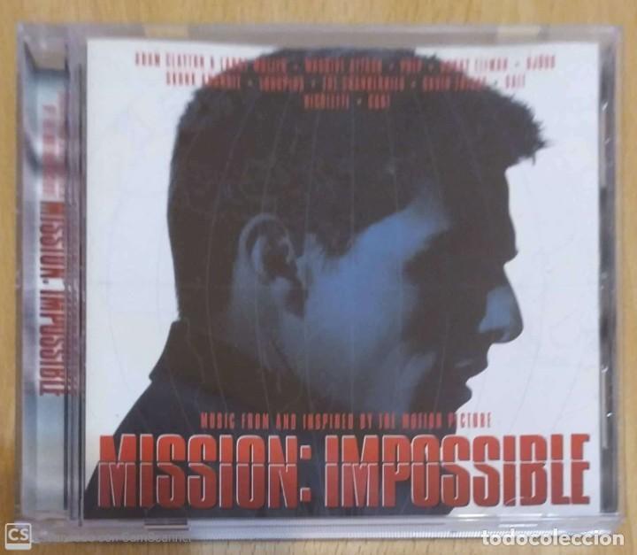 B.S.O. MISSION: IMPOSSIBLE - CD 1996 (THE CRANBERRIES, PULP, BJORK, NICOLETTE, MASSIVE ATTACK...) (Música - CD's Bandas Sonoras)