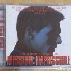 CDs de Música: B.S.O. MISSION: IMPOSSIBLE - CD 1996 (THE CRANBERRIES, PULP, BJORK, NICOLETTE, MASSIVE ATTACK...). Lote 288170218