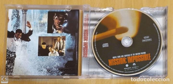 CDs de Música: B.S.O. MISSION: IMPOSSIBLE - CD 1996 (THE CRANBERRIES, PULP, BJORK, NICOLETTE, MASSIVE ATTACK...) - Foto 3 - 288170218