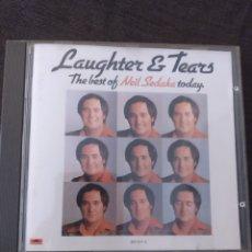 CDs de Música: LAUGHTER & TEARS. THE BEST OF NEIL SEDAKA TODAY. EDICIÓN POLYDOR. Lote 288176363
