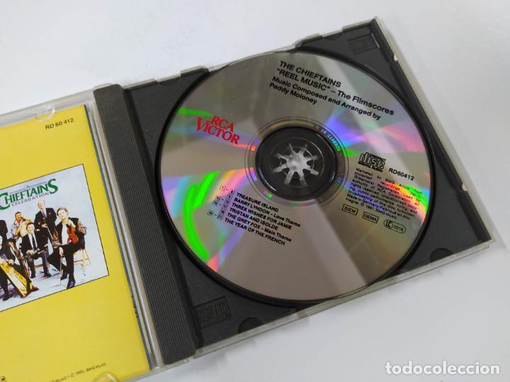 CDs de Música: THE CHIEFTAINS. REEL MUSIC. CD. TDKCD60 - Foto 2 - 288195828