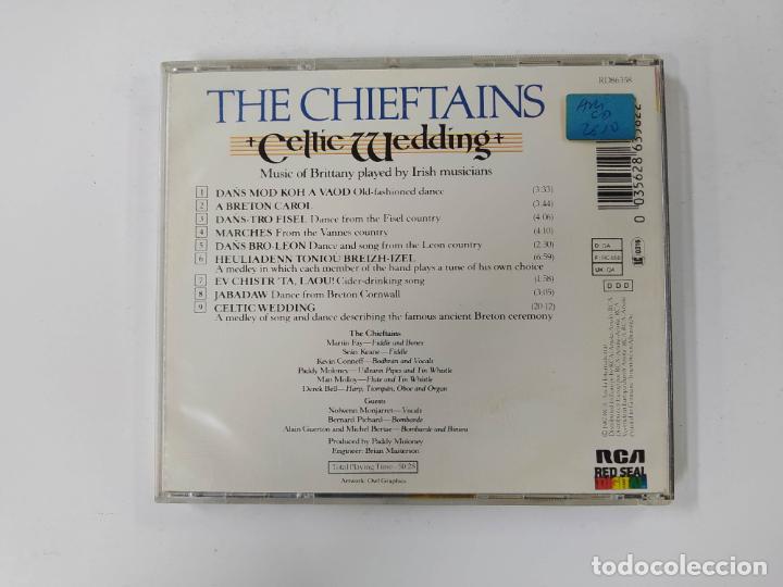 CDs de Música: THE CHIEFTAINS. - CELTIC WEDDING. CD. TDKCD60 - Foto 3 - 288196138