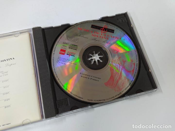 CDs de Música: CONCIERTO BARROCO. MUSICA DE LA CAPILLA SIXTINA. PALESTRINA. ALLEGRI. MORALES. DESPREZ. CD. TDKCD61 - Foto 2 - 288201268