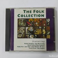 CDs de Música: THE FOLK COLLECTION. FEATURING. RICHARD THOMSON. FOUR MEN & A DOG. CD. TDKCD61. Lote 288201748