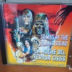 CDs de Música: ANTÓN GARCÍA ABRIL-LA NOCHE DEL TERROR CIEGO.. Lote 288202053