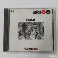 CDs de Música: FOLK. COLECCION AÑOS 60 Nº 11. CAMBIO 16. CD. TDKCD61. Lote 288202233