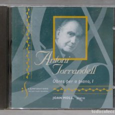CDs de Música: CD. ANTONI TORRANDELL. OBRES PER A PIANO 1. Lote 288204778
