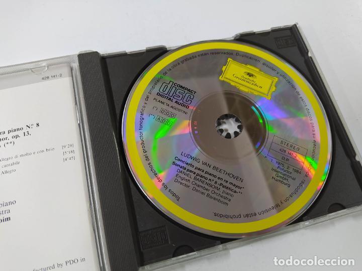 CDs de Música: GRANDES INTERPRETES. BARENBOIM. BEETHOVEN. CONCIERTO PARA PIANO. DEUTSCHE GRAMMOPHON CD.TDKCD62 - Foto 2 - 288206963