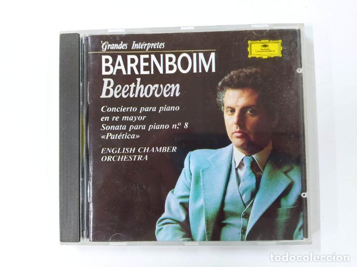 GRANDES INTERPRETES. BARENBOIM. BEETHOVEN. CONCIERTO PARA PIANO. DEUTSCHE GRAMMOPHON CD.TDKCD62 (Música - CD's Clásica, Ópera, Zarzuela y Marchas)
