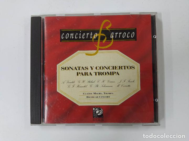 CONCIERTO BARROCO - SONATAS Y CONCIERTOS PARA TROMPA - VIVALDI - STÖLZEL - GRAUN. CD TDKCD62 (Música - CD's Clásica, Ópera, Zarzuela y Marchas)