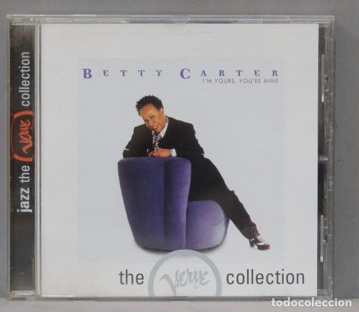 CD. BETTY CARTER. I´M YOURS, YOU´RE MINE (Música - CD's Jazz, Blues, Soul y Gospel)