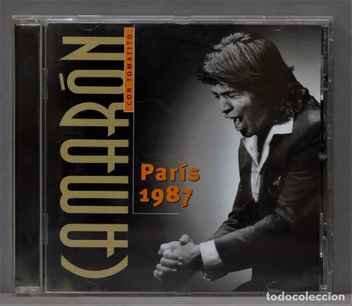 CD. CAMARON. PARIS. 1987 (Música - CD's Flamenco, Canción española y Cuplé)