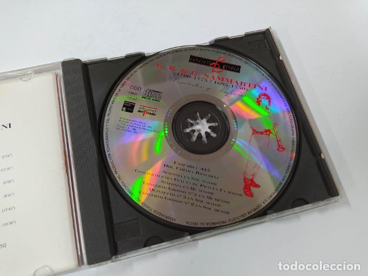 CDs de Música: CONCIERTO BARROCO. G.B. & G. SAMMARTINI. CONCIERTOS Y SINFONIAS. CD. TDKCD62 - Foto 2 - 288207568