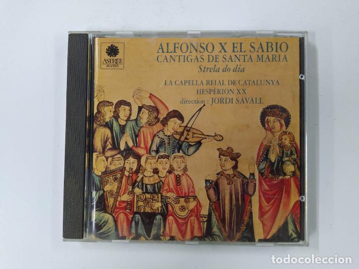ALFONSO X EL SABIO CANTIGAS DE SANTA MARÍA. JORDI SAVALL. CD. TDKCD62 (Música - CD's Clásica, Ópera, Zarzuela y Marchas)