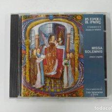 CDs de Música: LAS EDADES HOMBRE IV. 4. MISSA SOLEMNIS. JESUS LEGIDO. IV CENTENARIO DIOCESIS VALLADOLID. CD TDKCD62. Lote 288208953