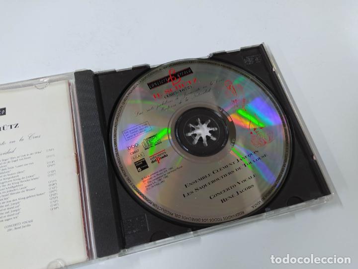 CDs de Música: CONCIERTO BARROCO. H. SCHUTZ. LAS SIETE PALABRAS DE JESUCRISTO EN LA CRUZ. CD. TDKCD63 - Foto 2 - 288211598