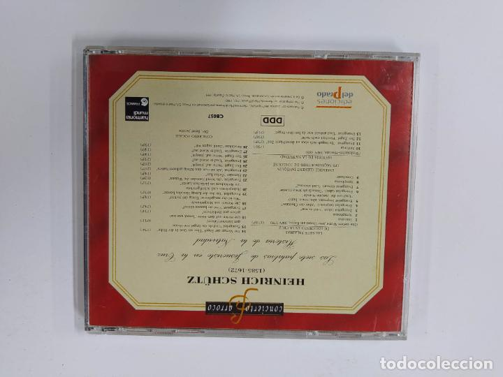 CDs de Música: CONCIERTO BARROCO. H. SCHUTZ. LAS SIETE PALABRAS DE JESUCRISTO EN LA CRUZ. CD. TDKCD63 - Foto 3 - 288211598