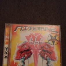 CDs de Música: 666. NITEMARE. EDICIÓN DE 1999. POLONIA. RARA.. Lote 288291753