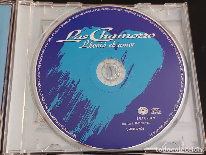 CDs de Música: LAS CHAMORRO / LLOVIÓ EL AMOR / CD - DARSHA MUSIC-1999 / 12 TEMAS / IMPECABLE. - Foto 2 - 288322678