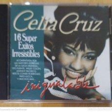 CDs de Música: CELIA CRUZ (INIGUALABLE - 16 SUPER EXITOS IRRESISTIBLES) CD 1994. Lote 288323488