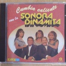 CDs de Música: LA SONORA DINAMITA (CUMBIA CALIENTE CON LA SONORA DINAMITA) CD 1996 COLOMBIA. Lote 288324203