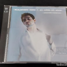 CDs de Música: ALEJANDRO SANZ / EL ALMA AL AIRE / EDICIÓN ESPECIAL / DOBLE CD-WEA-2001 / 15 TEMAS / IMPECABLE.. Lote 288326508