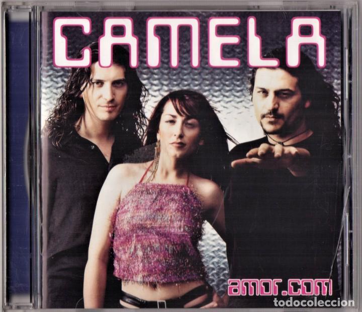 CAMELA AMOR.COM CD (Música - CD's Flamenco, Canción española y Cuplé)