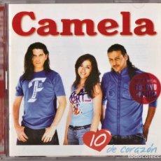 CDs de Música: CAMELA 10 DE CORAZONES CD+DVD+POSTER. Lote 288359248