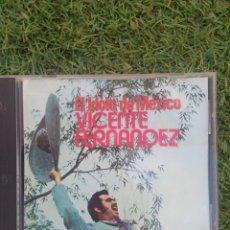 """CDs de Música: CD VICENTE FERNÁNDEZ """" EL IDOLO DE MÉXICO """". Lote 288359438"""