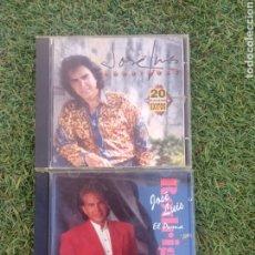 """CDs de Música: LOTE PACK 2 CDS JOSE LUIS RODRÍGUEZ EL PUMA """" 20 GRANDE EXITOS-RAZONES PARA UNA SONRISA. Lote 288362368"""