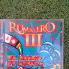 """CDs de Música: CD RUMBOLERO 3 """" EL MUNDO ES MUSICA """". Lote 288374928"""
