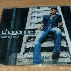 CDs de Música: CHAYANNE CAPRICHOSA REMIXES FERRERO / DEL MORAL CD SINGLE DEL AÑO 2003 ESPAÑA CONTIENE 4 TEMAS. Lote 288379168