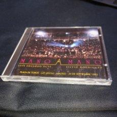 CDs de Música: DOBLE CD SILVIO RODRÍGUEZ Y LUIS EDUARDO AUTE ENTRE MANOS. Lote 288381683