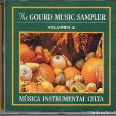 CDs de Música: THE GOURD MUSIC SAMPLER VL 2 -MUSICA CELTA INSTRUMENTAL. Lote 288394898