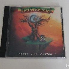 CDs de Música: 0921-AGUA BENDITA - GENTE QUE CAMINA !! // CD. Lote 288401768