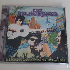 CDs de Música: 0921- LOS DELINQÜENTES - EL SENTIMIENTO GARRAPATERO QUE NOS TRAEN LAS FLORES // CD. Lote 288402178