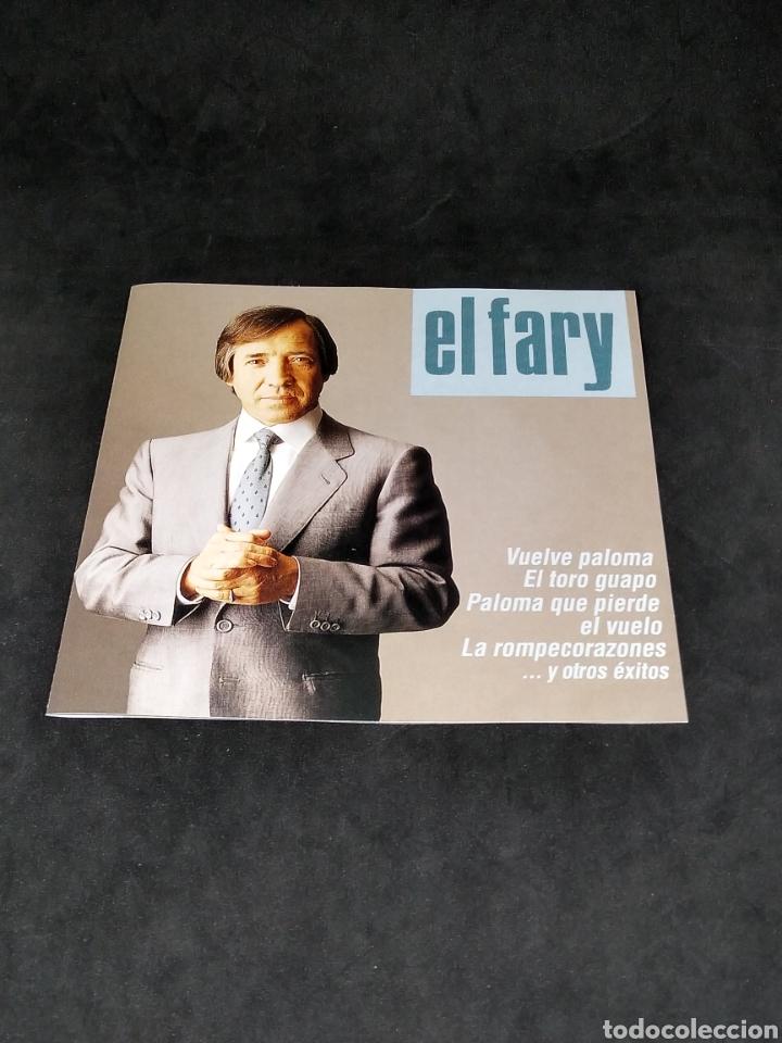 CDs de Música: EL FARY - ÉXITOS - CD - 1993 - DISCO VERIFICADO - Foto 3 - 288403378