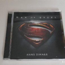 CDs de Música: 0921-HANS ZIMMER - MAN OF STEEL - ORIGINAL MOTION PICTURE SOUNDTRACK // CD. Lote 288404883