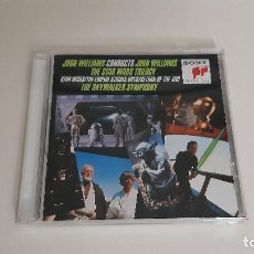 CDs de Música: 0921-JOHN WILLIAMS - JOHN WILLIAMS CONDUCTS JOHN WILLIAMS - THE STAR WARS TRILOGY // CD. Lote 288405243