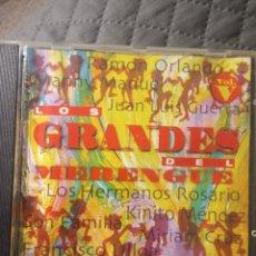 CDs de Música: CD LOS GRANDES DEL MERENGUE. Lote 288405378