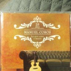 """CDs de Música: CD MANUEL COBOS """" LO QUE LLEVO Y TRAIGO """". Lote 288406373"""