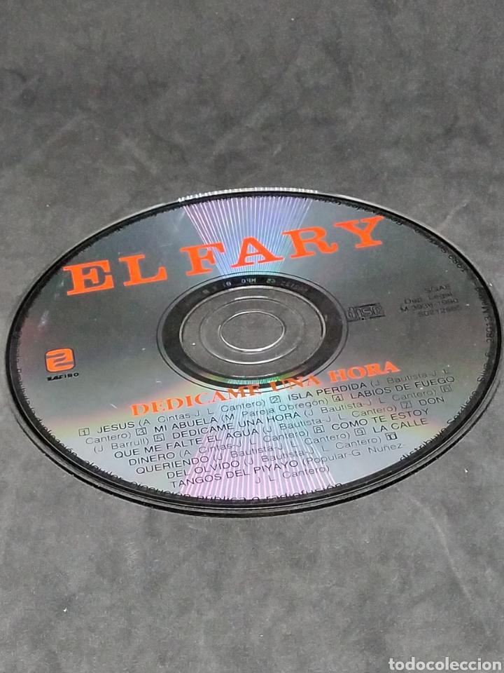 CDs de Música: EL FARY - DEDÍCAME UNA HORA - CD - 1990 - DISCO VERIFICADO - Foto 6 - 288407288