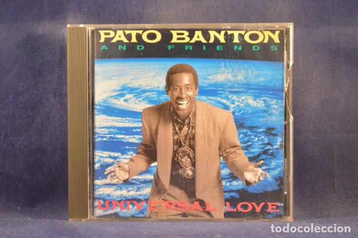 PATO BANTON AND FRIENDS - UNIVERSAL LOVE - CD (Música - CD's Reggae)