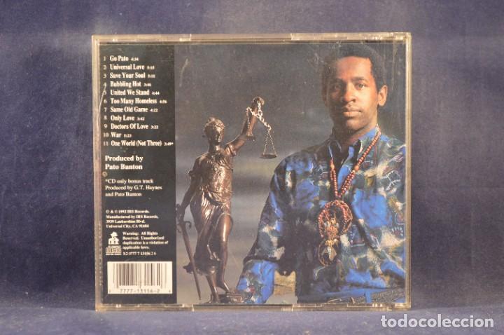 CDs de Música: PATO BANTON AND FRIENDS - UNIVERSAL LOVE - CD - Foto 2 - 288458658