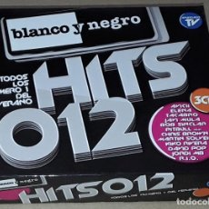 CDs de Música: 3 CD- BLANCO Y NEGRO - HITS 012 - TACABRO,AVICII, DAVID POP, JORDI MB, R.I.O. , JAVI MULA, SOLGEIG. Lote 288461708