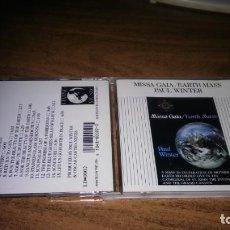 CDs de Música: PAUL WINTER - MISSA GAIA - EARTH MASS. Lote 288467118