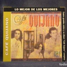 CDs de Música: CAFÉ QUIJANO - CAFÉ QUIJANO (+ 4 GRANDES ÉXITOS) - CD. Lote 288471343